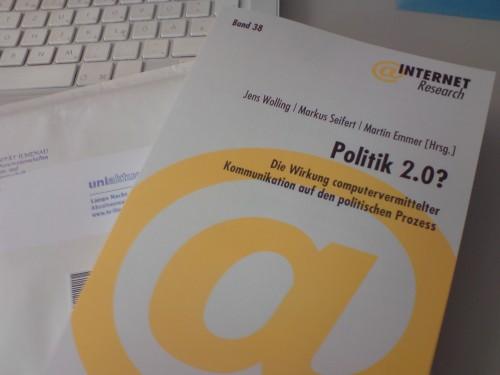 Politik 2.0 - Cover